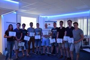 Diploma uitreiking Summerschool 2018 Deventer