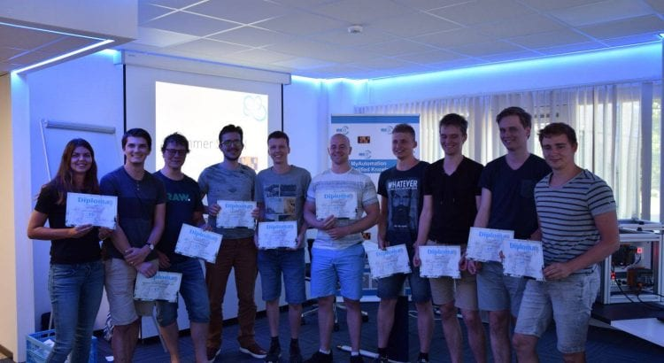 Diploma uitreiking Summerschool 2018 Deventer