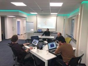 Eerste ABB robot training IA Professionals Academy
