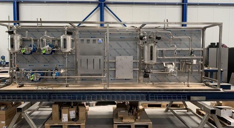 Mini limonade fabriek voor trainingen op het Experience Center te Deventer