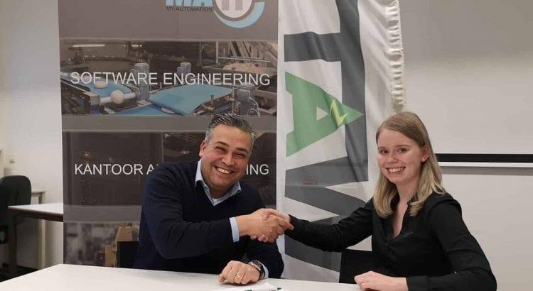 Samenwerkingsovereenkomst getekend tussen MA-IT en SV Watt