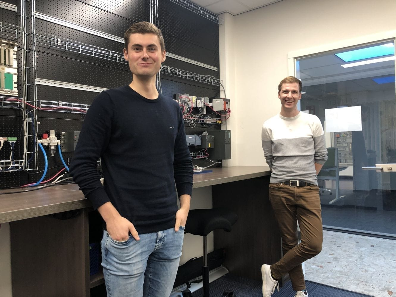 Johan Hemrica en Kelvin Sweere beginnen vandaag bij MA-IT